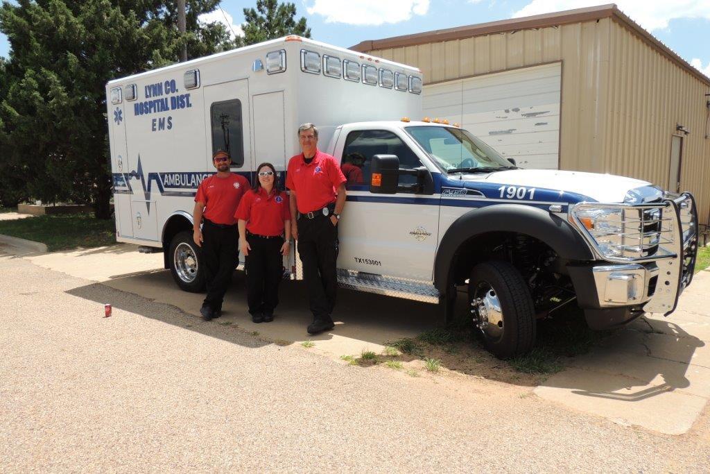 Lynn County Hospital District Ambulance 2015