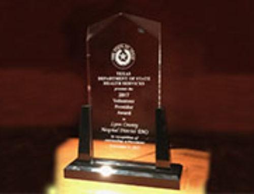 LCHD EMS Program Wins 2017 Volunteer Provider Award